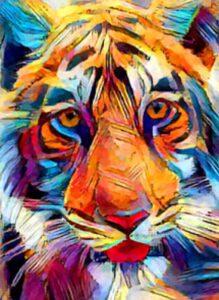 Psychedelic Tigress